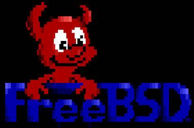 freebsd daemon by PeacePrayer