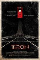TRON poster by adamrabalais