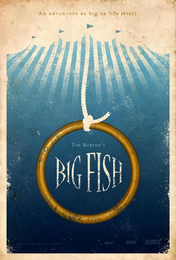 Big Fish Poster by adamrabalais