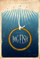 Big Fish Poster by adamrabalais