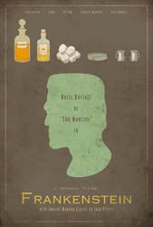 Frankenstein Poster by adamrabalais