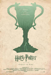 Harry Potter GOF Poster by adamrabalais