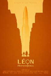 Leon: The Professional Poster by adamrabalais