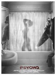 Cinematic Psychopaths: Psycho by adamrabalais