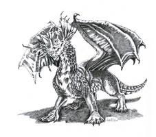 Blue dragon - DD by GerVOlg