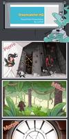 DreamcatcherOCT: Environments by CajamaPat