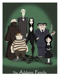 the Addams Family by BrianMainolfi