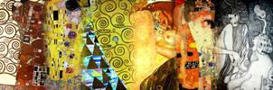 collage vjy: KLIMT by vjy