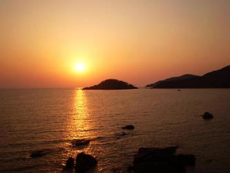 Goa Sunset by Swebilius