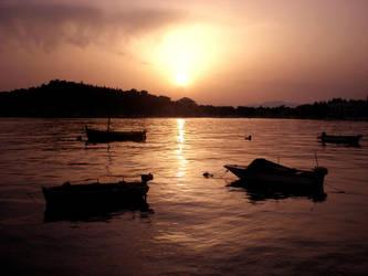 Makarska Sunset by Swebilius