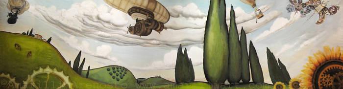 Tosco-steampunk Landscape by amarilli