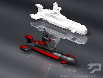 RA2 Soviet Attack Sub by tomsons26