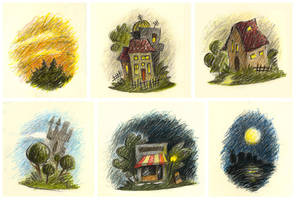 Houses by porcelanita