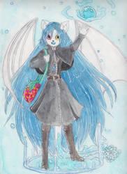 Aquarell Xaos Kawaiichi by StrawberryXaos