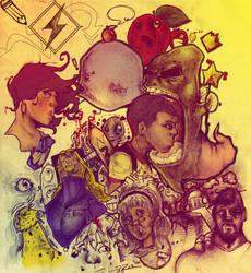 Sketch Up Round DEUX by iJayRoc