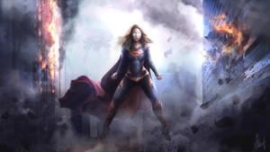 Supergirl by workinsane