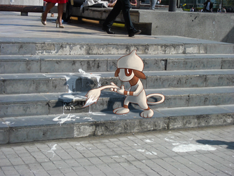 Wild Smeargle in Paris by Phi8