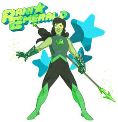 Rani Emerald (Gemsona) by Phi8