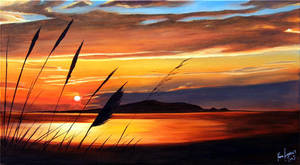 Golden Sun Break by karlandrews