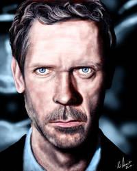 Hugh Laurie by karlandrews
