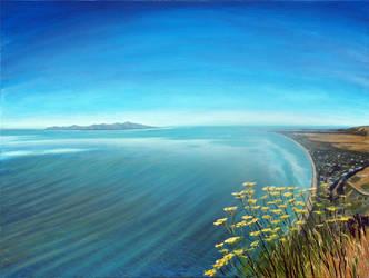 Fennel Flowers on Paekakariki Hill View, NZ by karlandrews