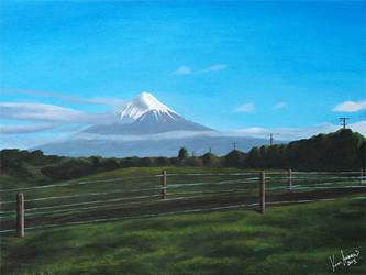 Mt Taranaki by karlandrews