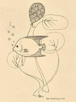 floating fish of enlightenment by elegantart