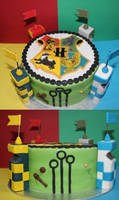 Harry Potter Quidditch Cake by betty002