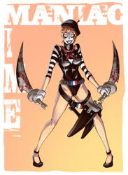 Maniac Mime by UCII by Attache