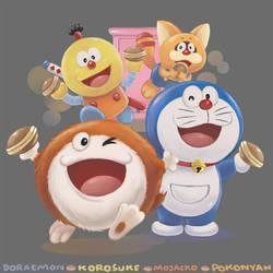 Dorayaki Party by winuy