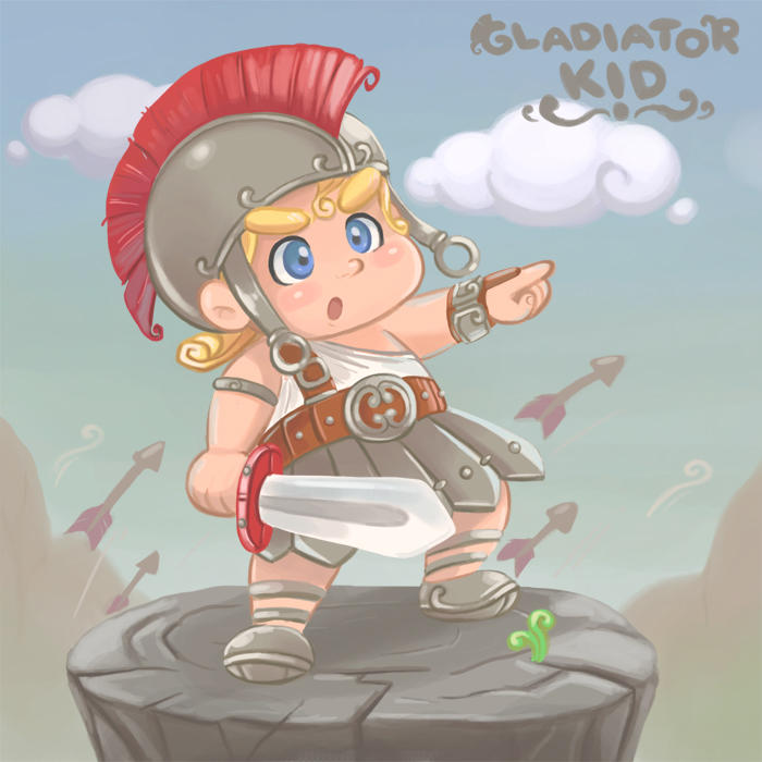 Gladiator Kid By Winuy On Deviantart