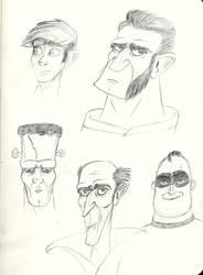 Sketches - ToonBoxStudio B by sharkinc