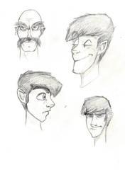 Sketches - ToonBoxStudio C by sharkinc