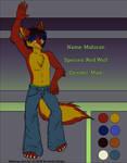Character Sheet- Mahican by digital-blood