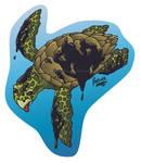 Turtle Sticker Donation by digital-blood