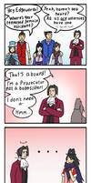 Ace Attorney Assistants by Arabesque91