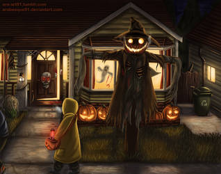 Trick or Treat - Halloween 2017 by Arabesque91