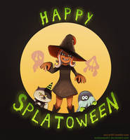 Happy Splatoween! by Arabesque91