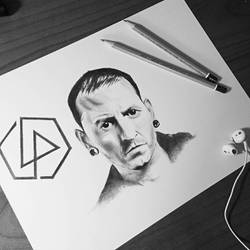 Thank you Chester    by ThomasArt98