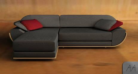 corner sofa by ar-maniac