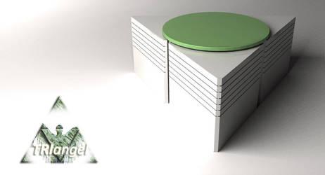 triangel coffe table by ar-maniac