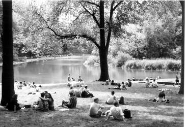 Central Park Sunday Afternoon by OLSPUR
