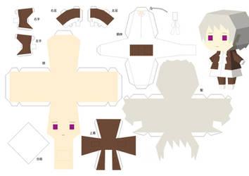 Iceland Paper Craft by xXKuraikoXx