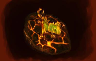 Fire Lizard by valoofx