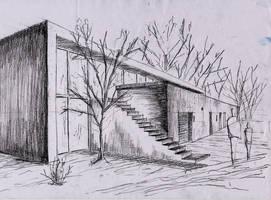 arquitectura-dibujo 5 by jujo