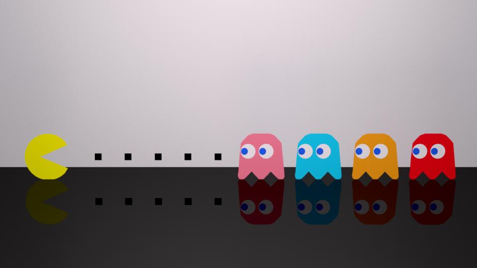 PacMan by UtkarshPatel13