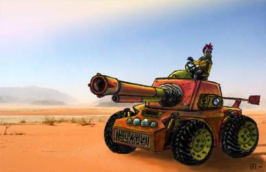 .::BMW.Tank.Rod::. by maximus-prime