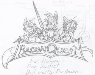 BaconQuest line by Fawkes-EZ-03