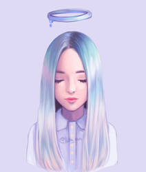 pastel angel by fadedmemory1