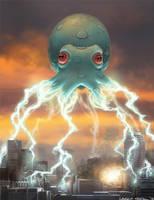 Squid Invaders by lkermel